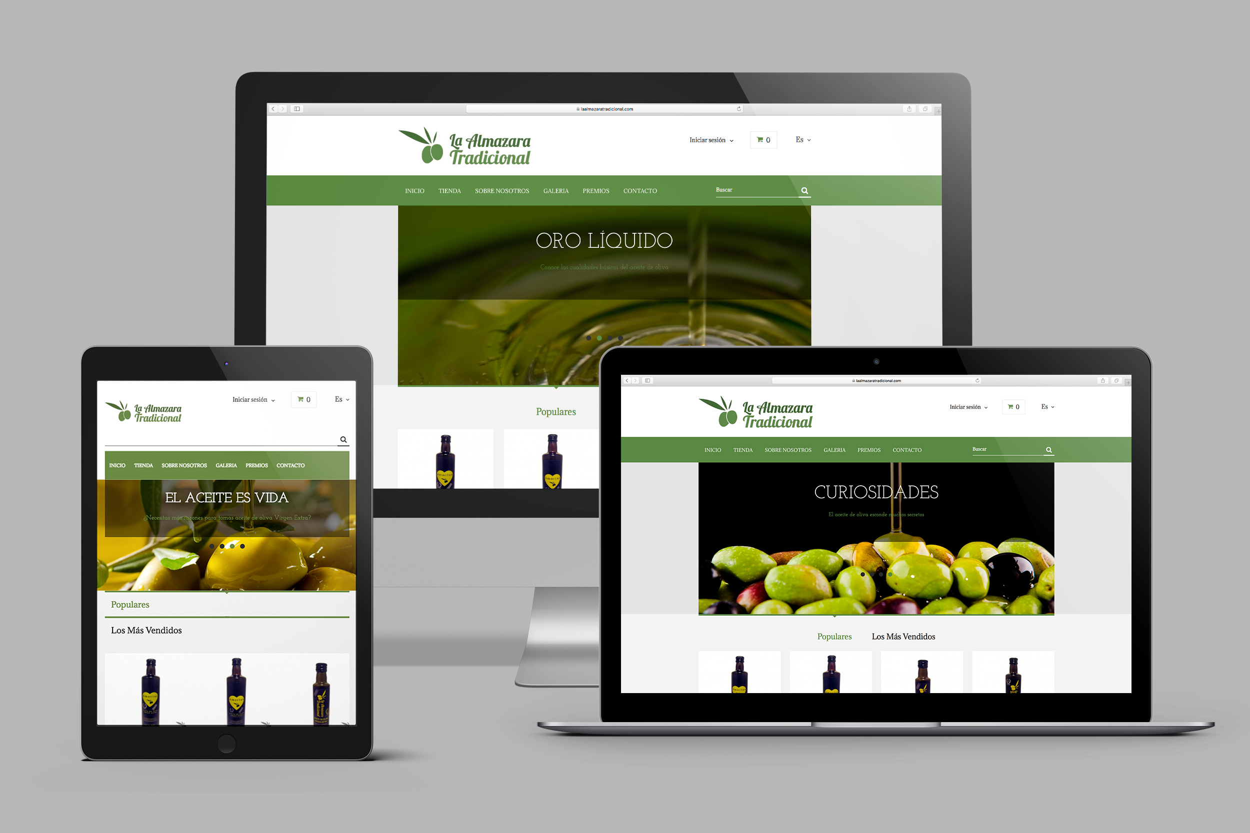 almazara web - La Almazara Tradicional
