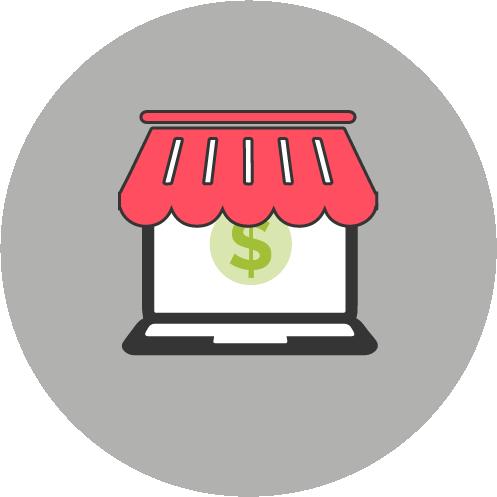 dibujo tienda - Tiendas Online